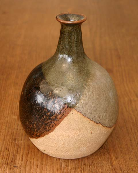 Stoneware bottle made between 1971 and 1984