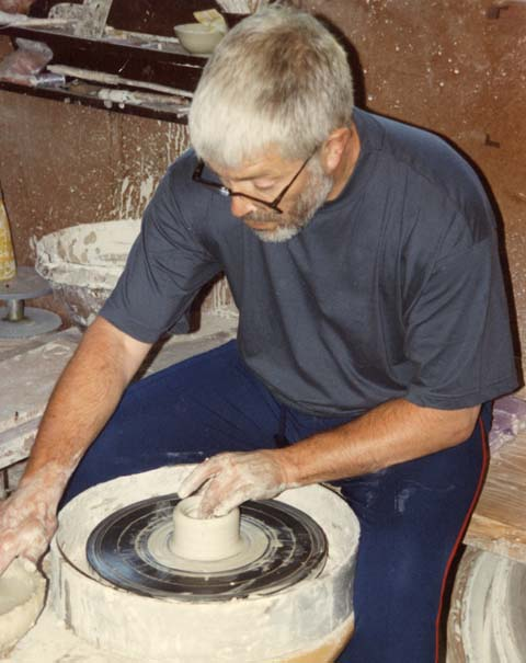 Opening the centred clay